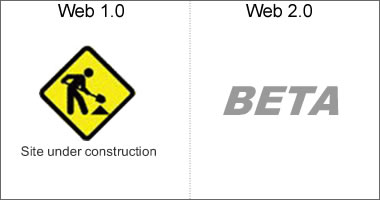 differences between web 2.0 and web 1.0