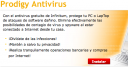 Probando Prodigy Antivirus