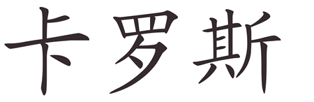 Descubre cómo se escribe tu nombre en chino