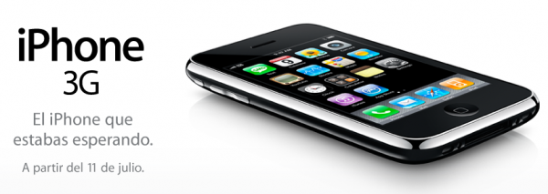 iPhone 3G en México