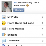 MySpace Mobile para el iPhone e iPod Touch