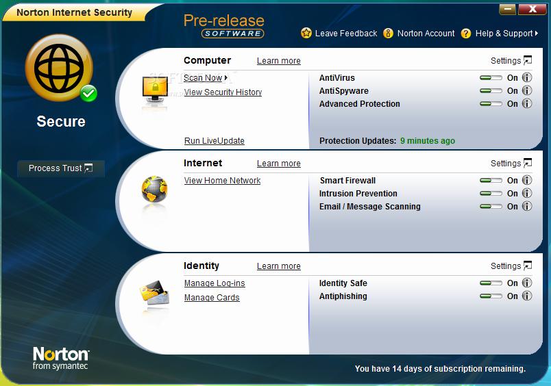 Norton Internet Security y AntiVirus 2009 con activación gratis