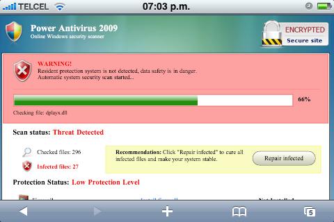 Scanner Power Antivirus 2009