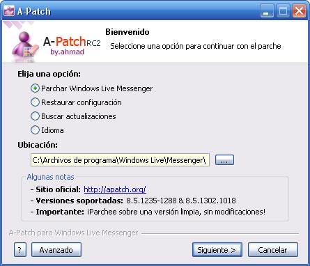 parche multisesion para windows live messenger