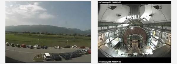 Cámaras en vivo LHC
