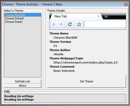 Chrome Automatic Theme Switcher