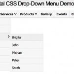 Un Framework en CSS para crear menús desplegables