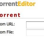 Cómo editar un Torrent