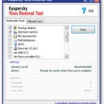 Elimina virus gratis con Kaspersky Virus Removal