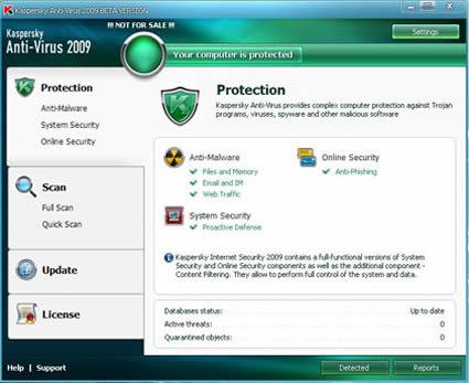Kaspersky Anti-Virus 2009