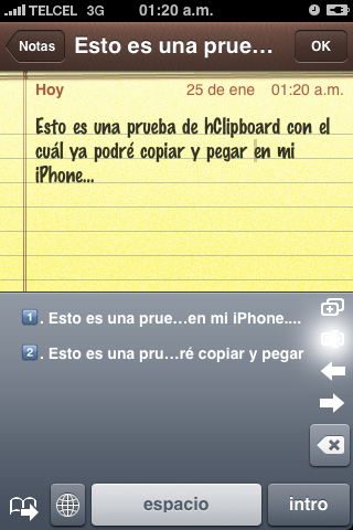 hClipboard