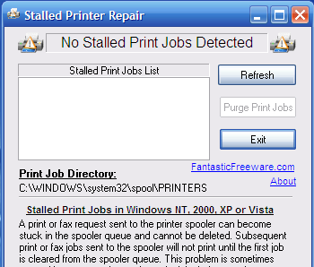 Stalled Printer Repair
