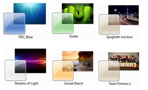 Themes no oficiales para Windows 7