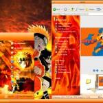 Tema para Windows XP de Naruto