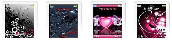 Themes Sony Ericsson