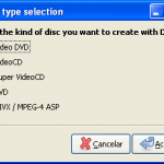 Como convertir videos al formato DVD y VCD (Video CD)