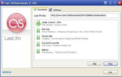 Last.FM Downloader