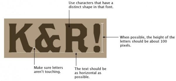 Como saber que letra es?