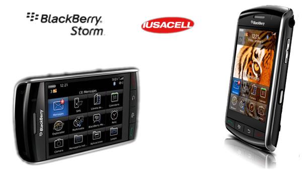 Blackberry Storm con Iusacell