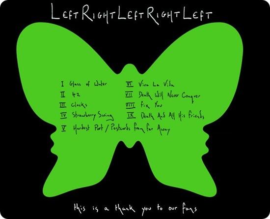 Descargar gratis Coldplay - Left Right Left Right Left