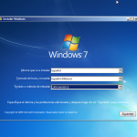 Instalando Windows 7 paso 1