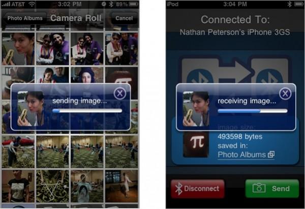 Bluetooth PhotoShare App