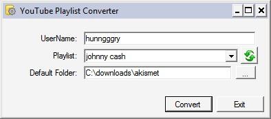 YouTube Playlist Converter