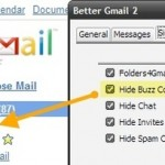 Oculta el contador de Google Buzz y obtén notificaciones de audio en Gmail con Better Gmail 2