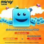 Promoción de Messenger Telcel