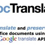 Traduce documentos de Word, Excel, PowerPoint o texto en línea con DocTranslator