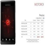 Ya está en México el Motorola Droid y se llama Motoroi con Iusacell