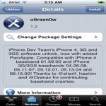Desbloquear iPhone con cualquier baseband usando UltraSn0w