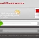 Convierte documentos PDF a dibujos de AutoCAD