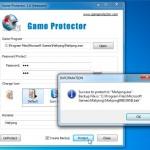 Protege con contraseña los juegos o programas con Game Protector