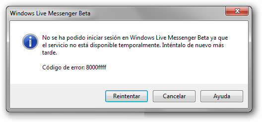 cómo resolver problemas en windows live messenger 2010