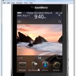 Prueba el nuevo sistema BlackBerry OS 6 en tu PC
