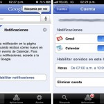 Las notificaciones Push para Gmail y Google Calendar han llegado al iPhone