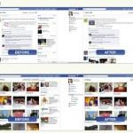 Elimina las cosas innecesarias de la interfaz de Facebook