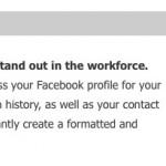 Crea tu curriculum con Docs.com sacando tus datos de tu cuenta de Facebook