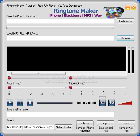 Cómo convertir en ringtones los videos de YouTube Ringtone-Maker