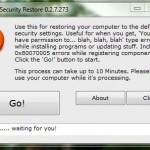 Cómo regresar la configuración de seguridad original de Windows 7