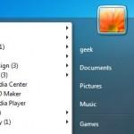 Organiza los iconos del menú inicio de Windows automáticamente