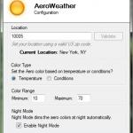 Cambia automáticamente los colores del tema de Windows de acuerdo al clima