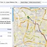 Google Maps ya puede trazar rutas en México (Cómo trazar una ruta)