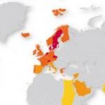 Comparación mundial de las velocidades de conexión a Internet