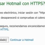 Cómo proteger tu cuenta de Hotmail usando una conexión segura siempre
