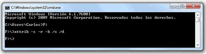 Comando para mostrar archivos ocultos