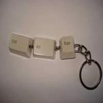 Cómo crear un llavero geek con un teclado