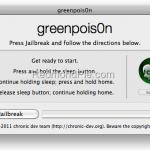 Jailbreak untethered para iOS 4.2.1 ya es posible con GreenPois0n RC5