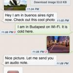 WhatsApp, adiós a los mensajes de texto